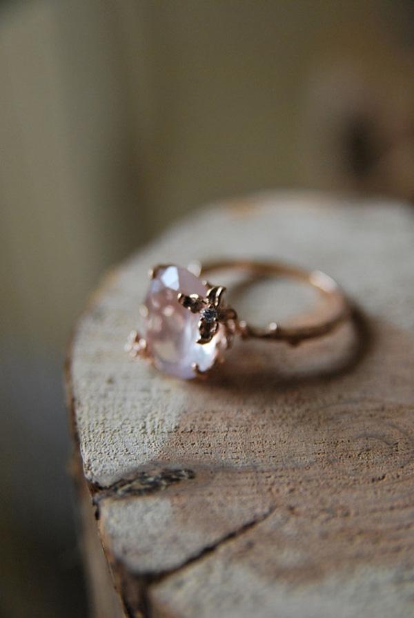 12 Impossibly Beautiful Rose Gold Wedding Engagement Rings Elegantweddinginvites Com Blog