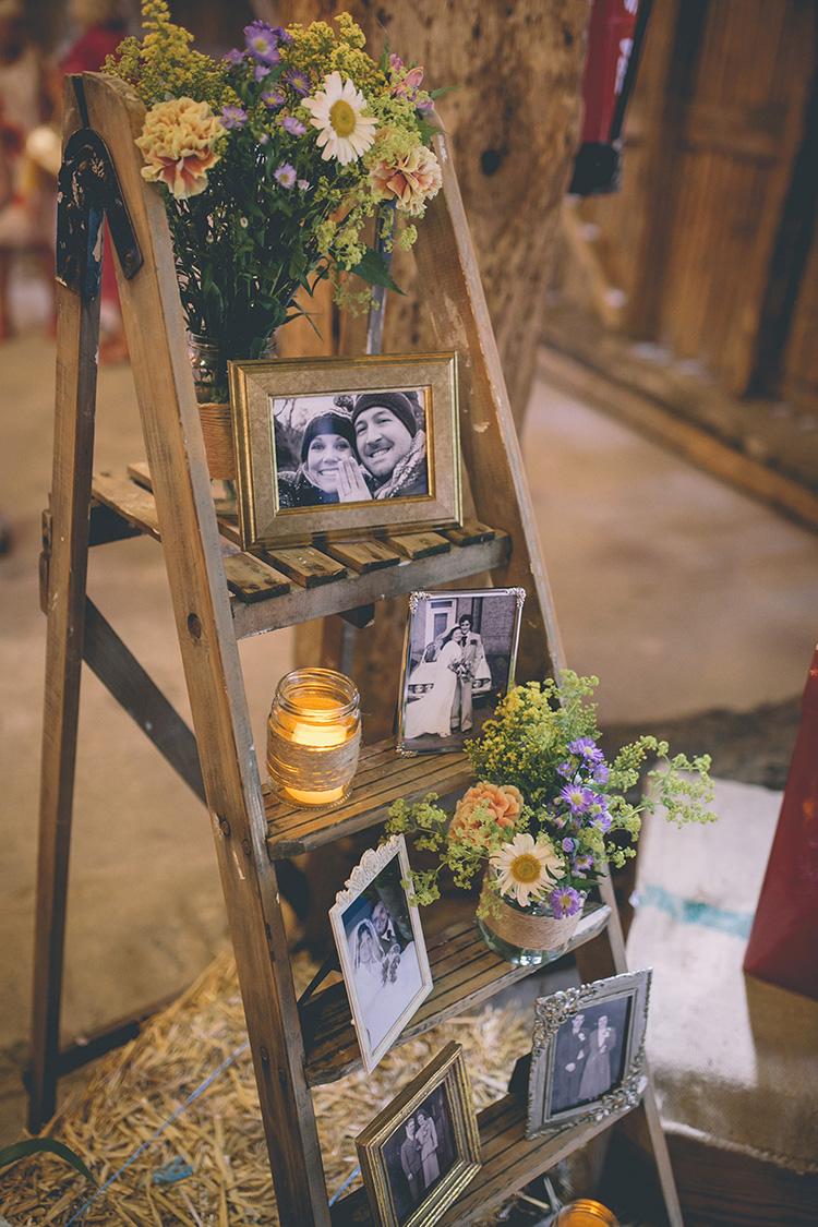 Rustic Heart Wedding Invitations