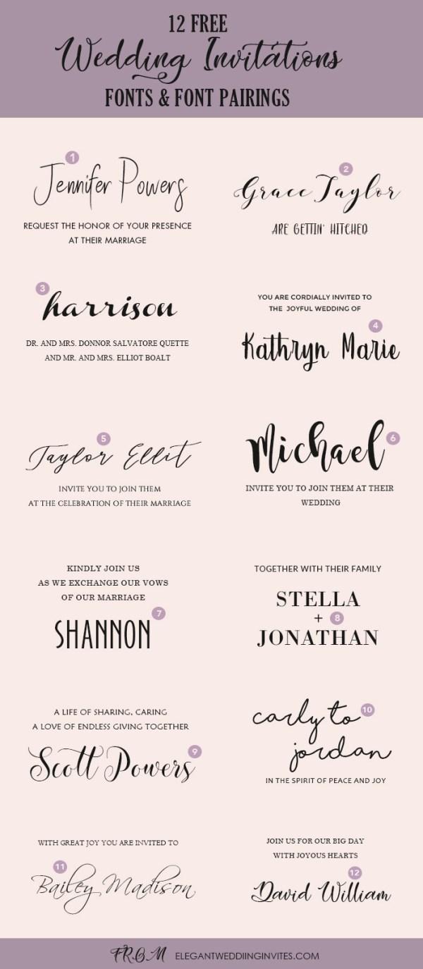 free wedding fonts # 2