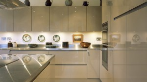 High Gloss PARAPAN Solid Surface Cabinet Doors : Made In