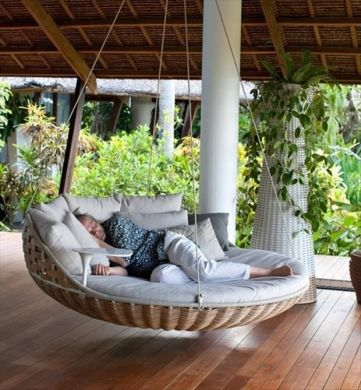 Hanging Chair in my Dreams   Elements at Home I keep dreaming about a time in the future when we are in our newly built  home and its finally finished  seriously does that ever happen  and we are  sitting