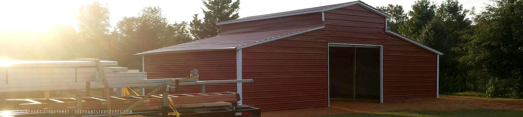 Metal Barns For Sale Custom Horse Barns And Metal Barn Kits