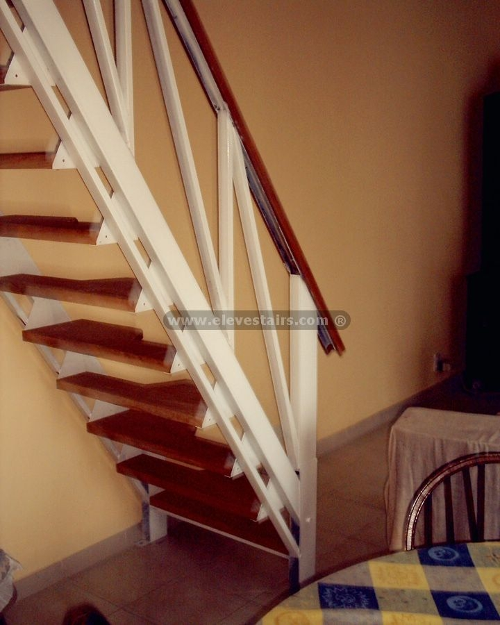 Alternated Treads Stairs Design Space Saving Stairs | Space Saving Stairs Design | Storage | Small Space | Cute | Low Cost | 2Nd Floor Small Terrace Concrete