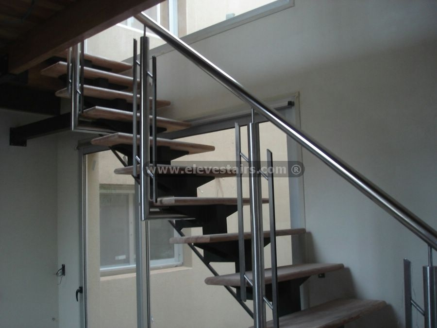 Stair Railings Balusters Handrails   Glass And Stainless Steel Stair Railing   Custom Glass   Architectural Glass   Balcony   Modern   Metal Glass