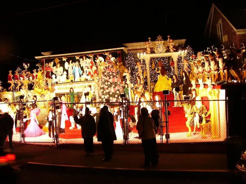Bronx Zoo Christmas Lights