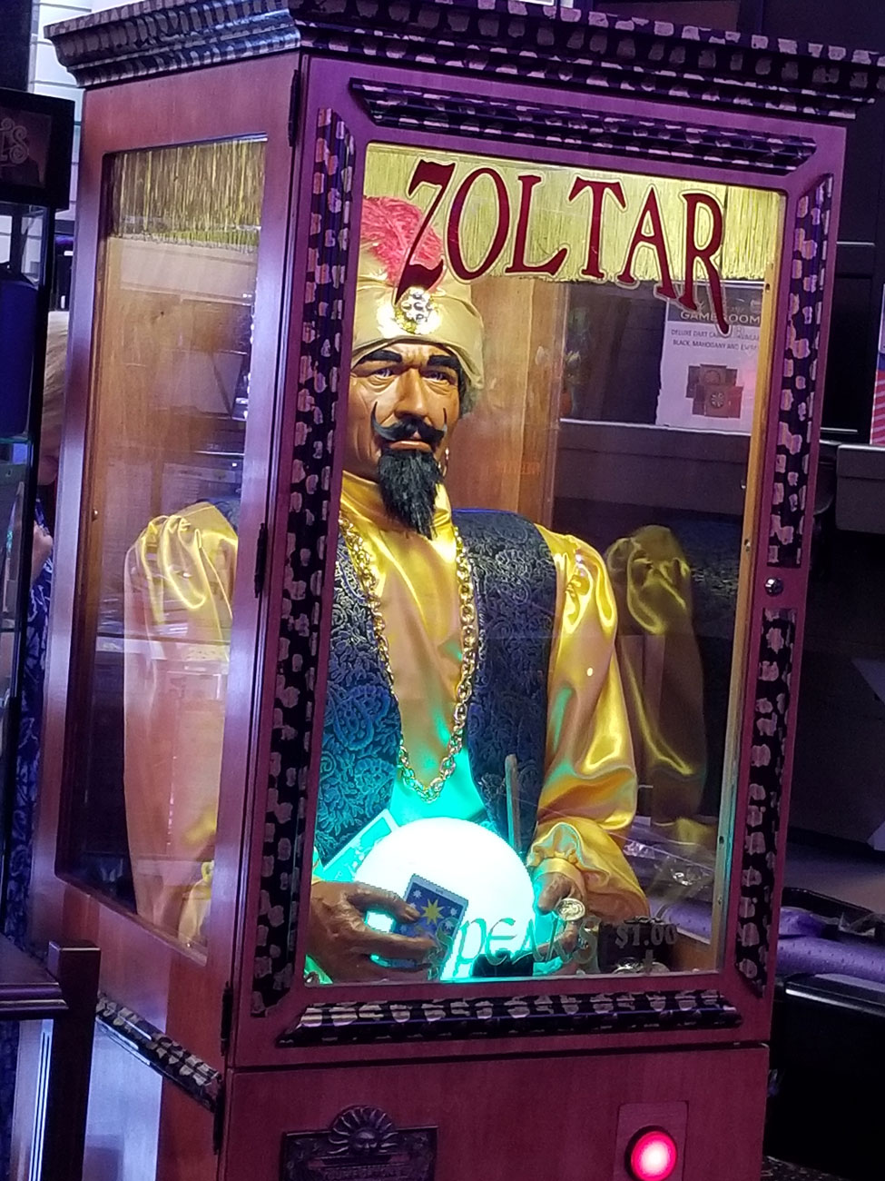 Zoltar Elite Home Gamerooms