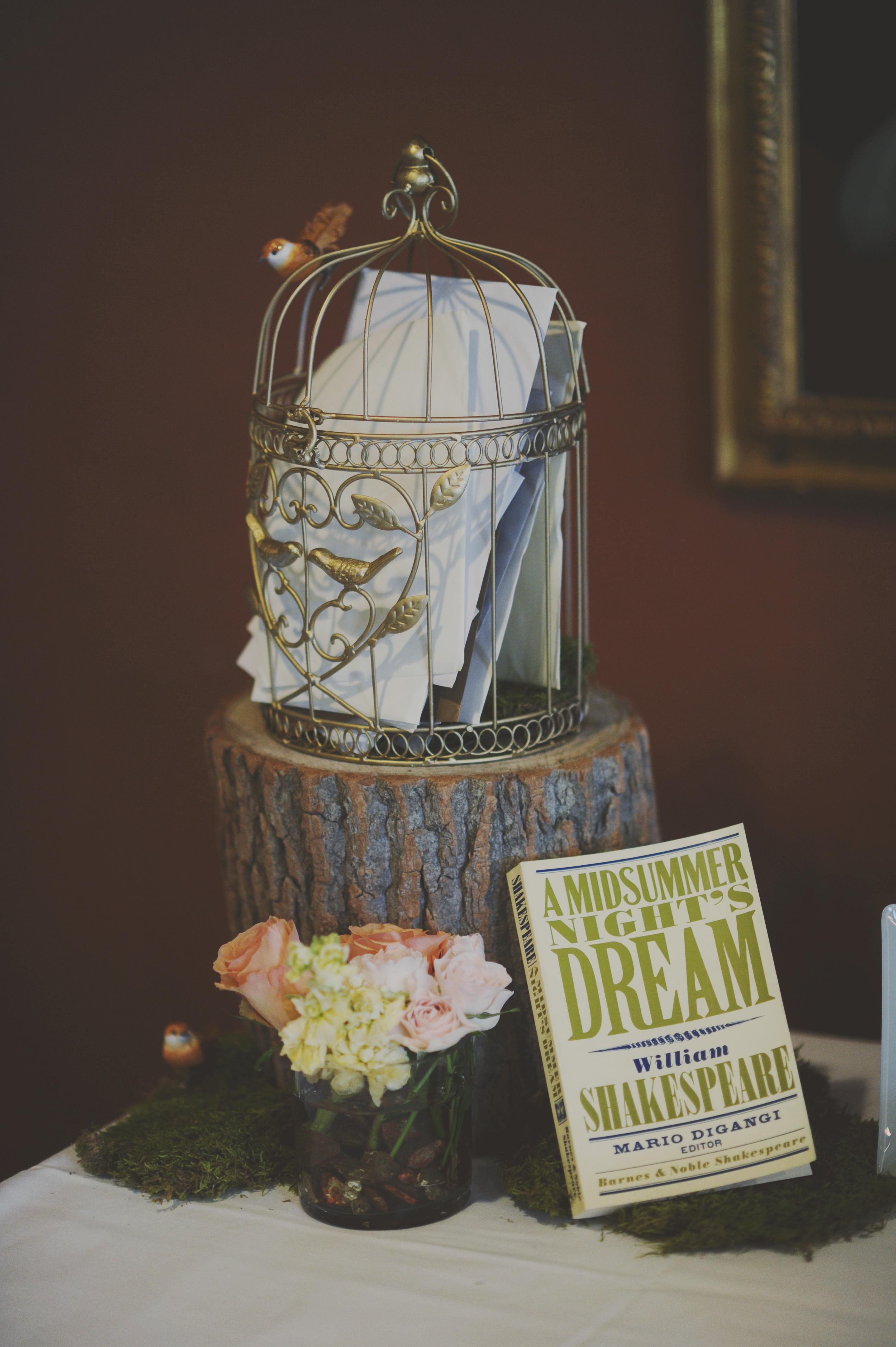 Shakespeare Themed Wedding Guest Table Elizabeth Anne