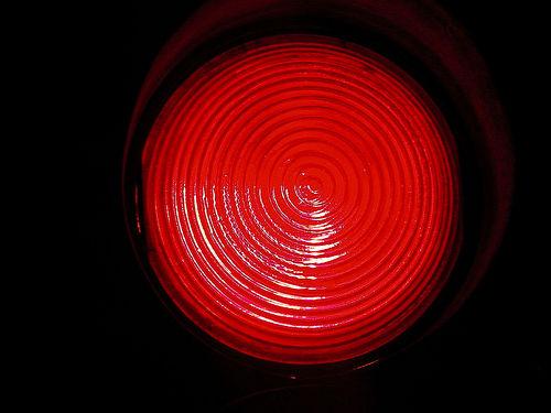 Running Red Light Ticket