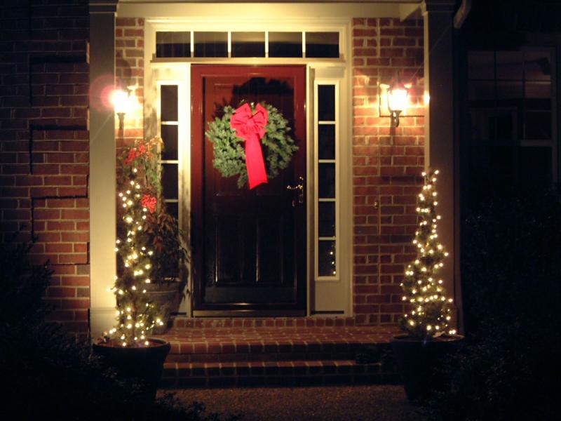 The Best Door Decoration Ideas For Christmas Emanon Kelley