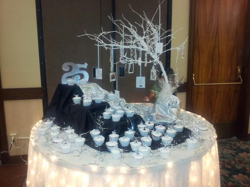 Party Wedding Decoration Anniversary 25th
