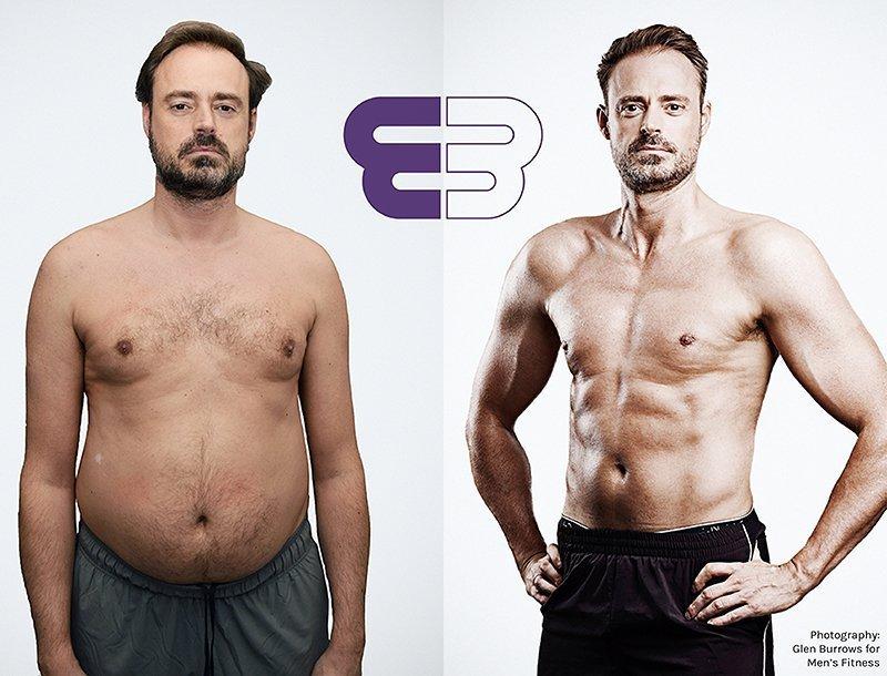 Jamie Theakston – lost 14% body fat in under 6 months