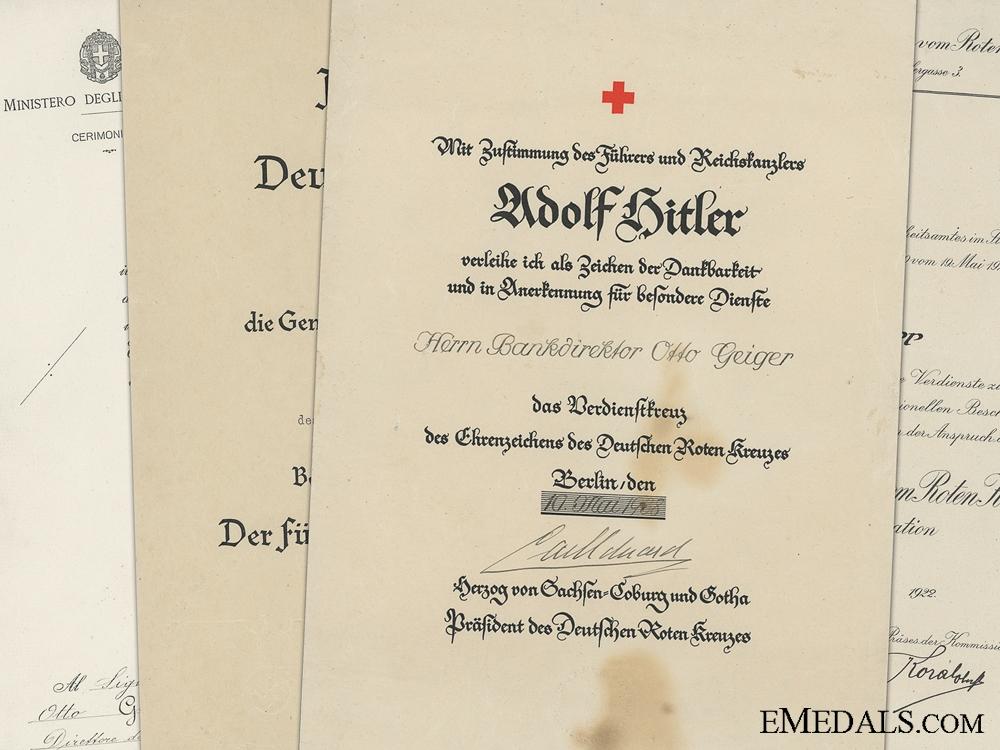 Italian Red Cross Award