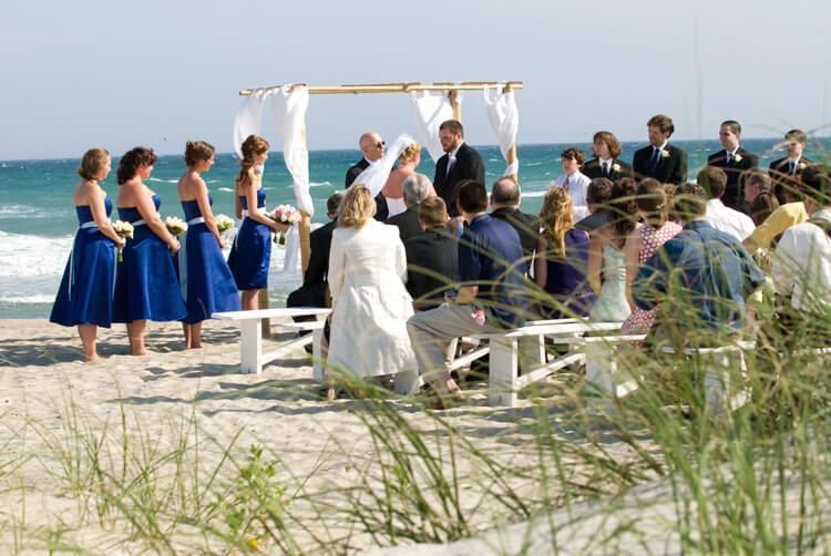 Beach Wedding Emerald Isle Nc