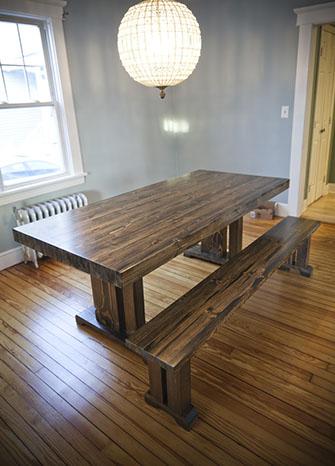 Butcher Block Style Table Emmorworks