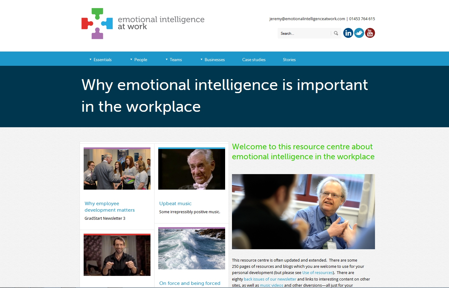 Emotional Intelligence At Work Jeremy Marchant
