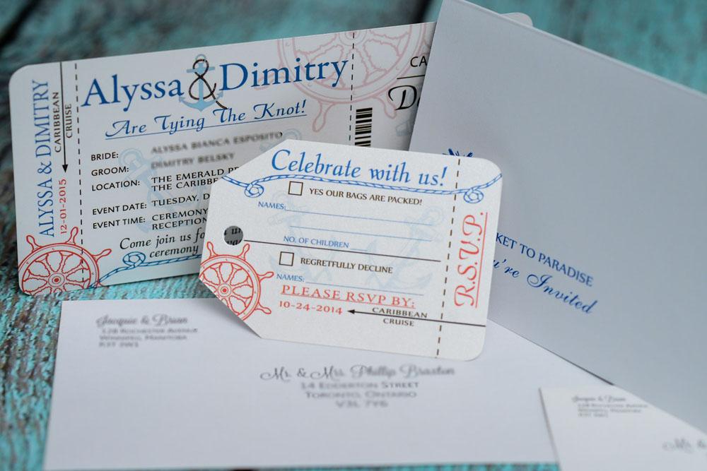 Custom Made Invitation Cards