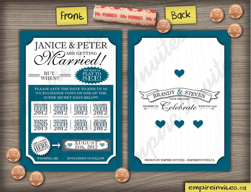 Cheap Wedding Invitations Vancouver