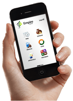 Empire Mobile Track your time  report your expenses and much more on your favorite mobile  device  Empire MOBILE focuses on the timesheet activities you perform daily  and