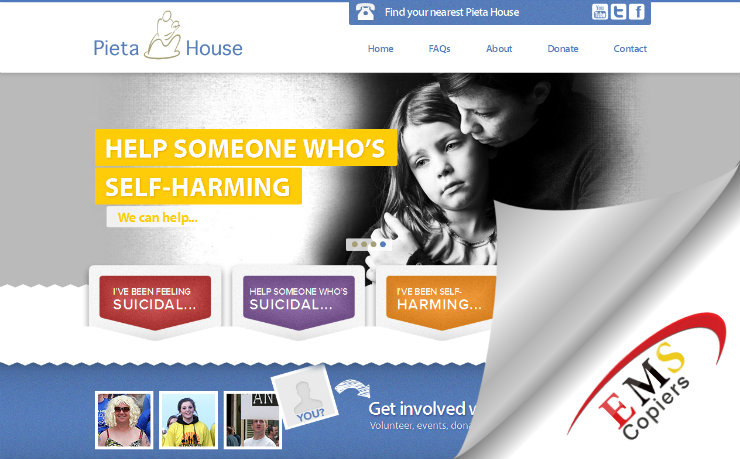 EMS Copiers Subscribes To Pieta House Campaign