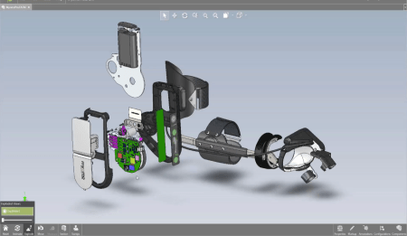 what s new in solidworks 2017 edrawings engineers rule an exploded view of an assembly in