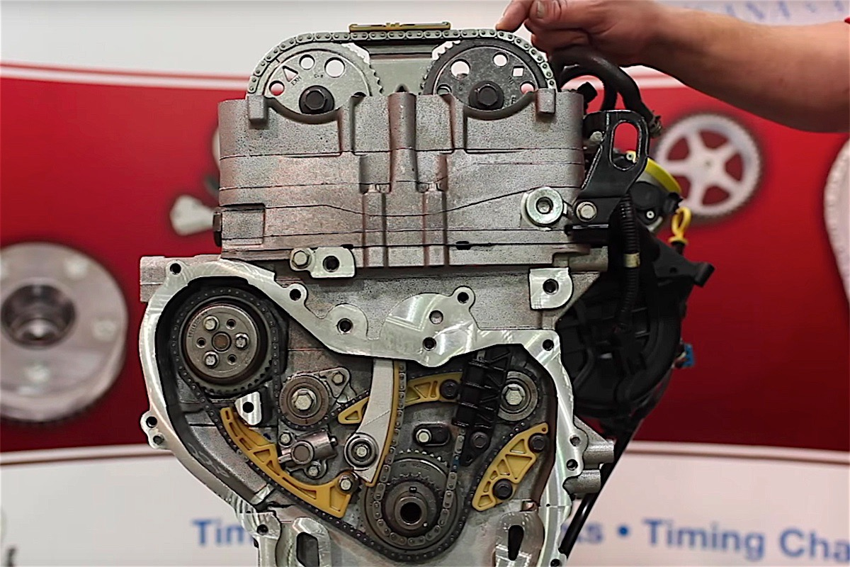 Chevy Cavalier 22 Engine Timing