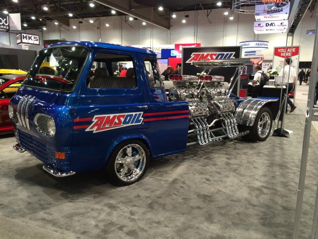 1962 Ford Econoline Truck With Four Supercharged V8s