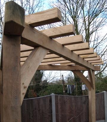 Bespoke Oak Garden Buildings Structures And Rustic