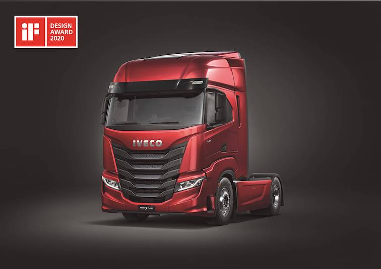 IVECO S-WAY IF DESIGN AWARD_