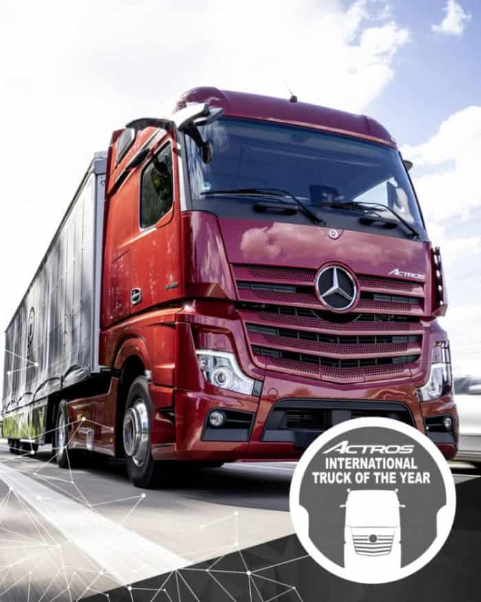 Actros International Truck of the Year