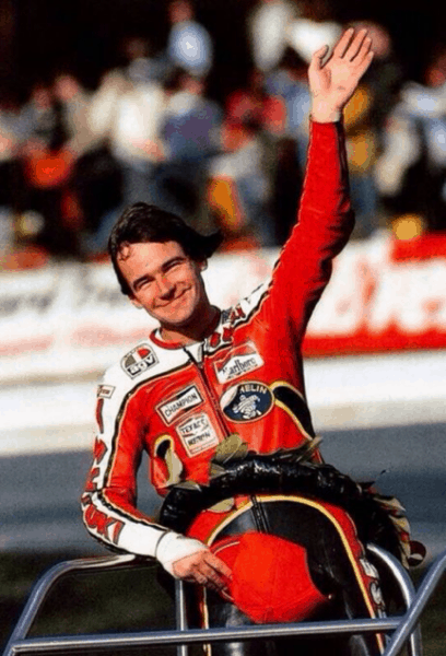 Barry Sheene triunfo