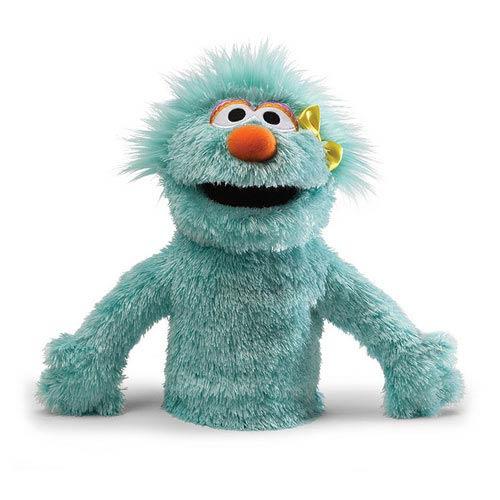 Sesame Street Rosita Hand Puppet 10-Inch Plush - Gund ...