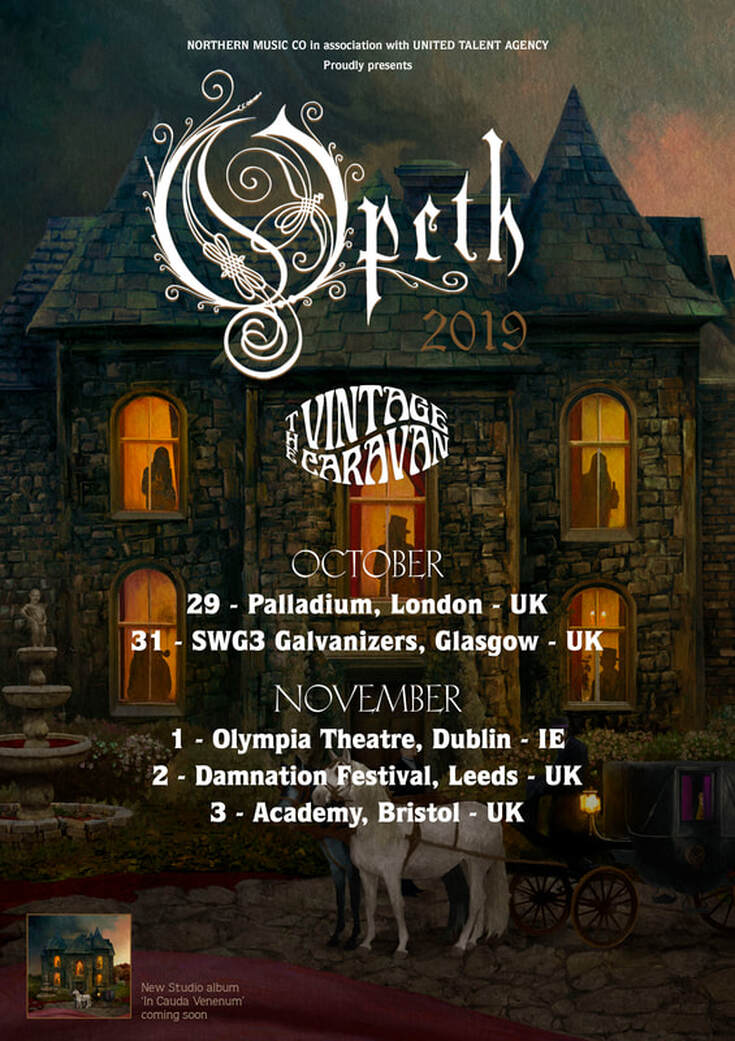Opeth Ready Uk Amp Ireland Dates Ahead Of In Cauda Venenum