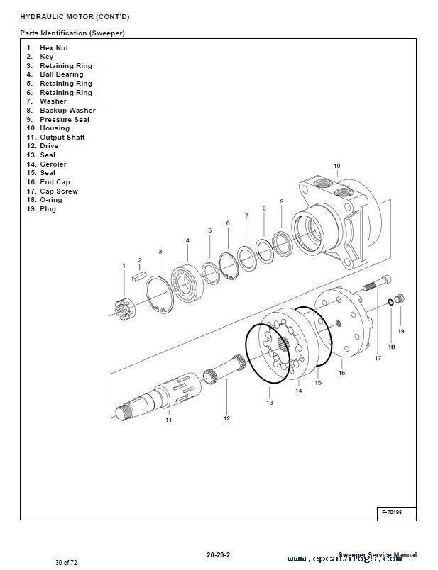 72 Bobcat Parts Diagram Sweeper