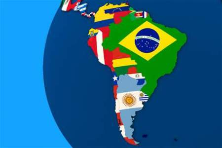 Why Latin America should be the EU s top priority in 2017   News     South America map