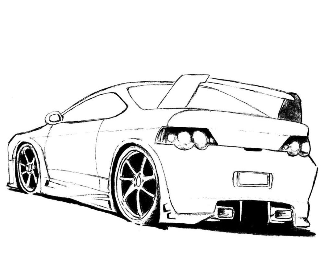 Coloring Page Of Cars