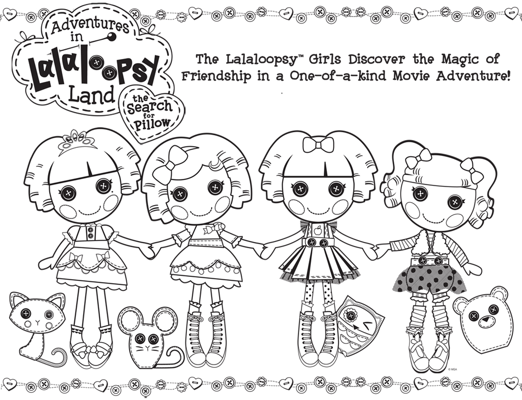 Lalaloopsy Coloring Pages Coloring Pages For Girls Online