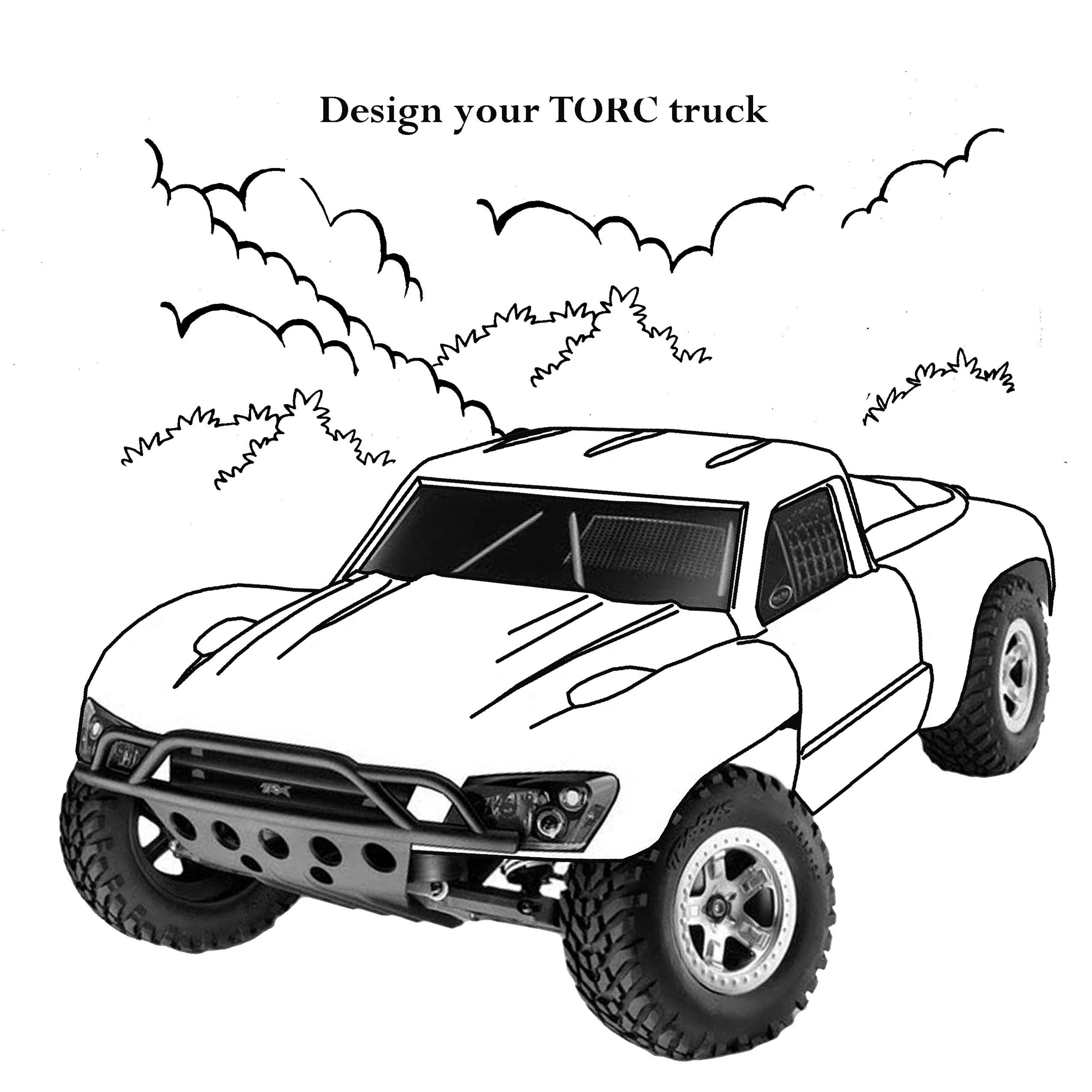 Speed Truck Coloring Pages Free Printable Coloring Pages For Kids