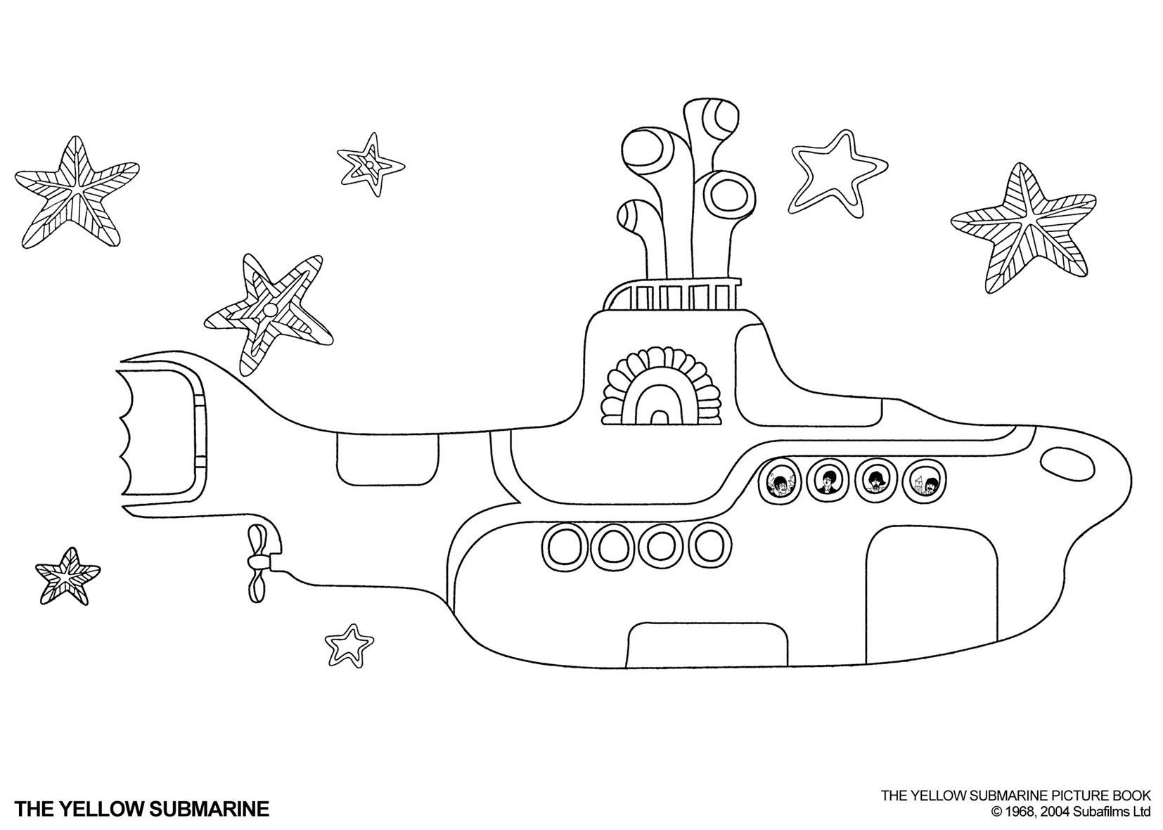 Submarine Coloring Pages Kids Coloring Pages Coloring Pages
