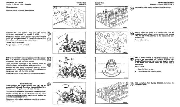Iseki 3 Cylinder Diesel Engine Service Manual  2004