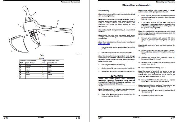 JCB 8027Z, 8032Z Excavator Service Repair Manual