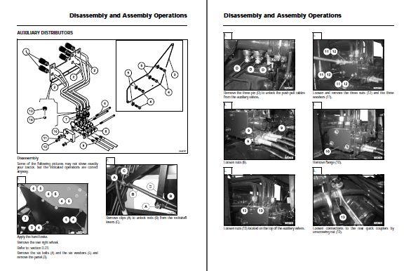 Massey Ferguson GC2300 Tractor Repair Service Manual