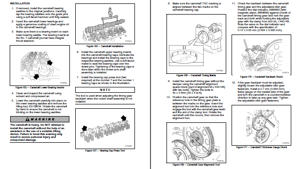 Mack MP7 EPA07 Diesel Engine Shop Repair Manual