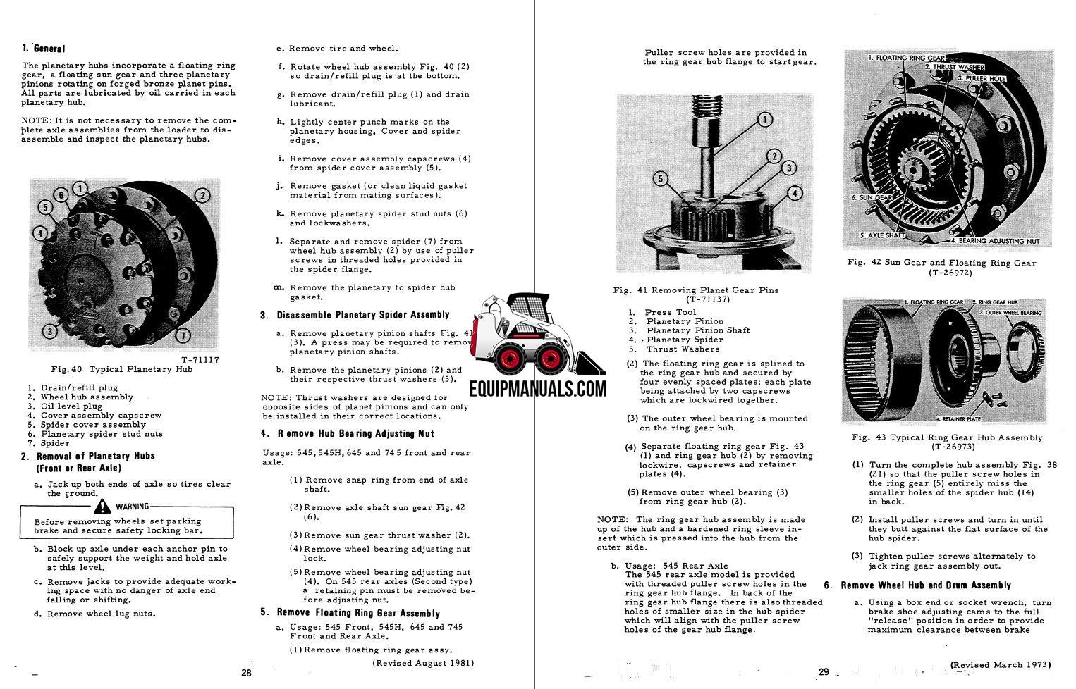 Fiat Allis FR160 Wheel Loader Complete Service Manual