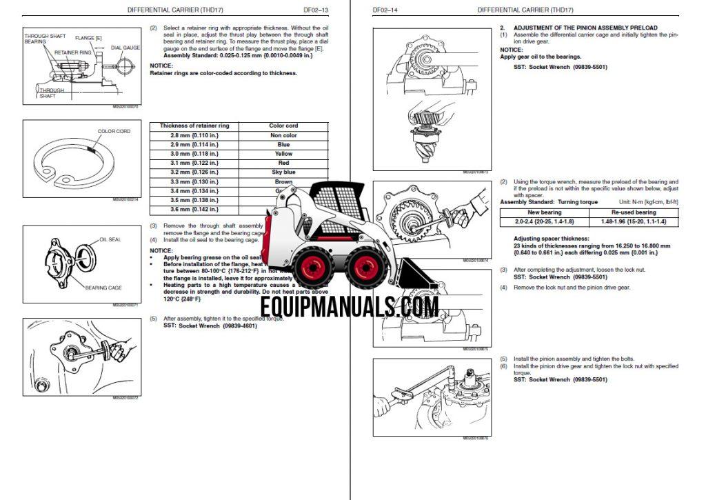 2003 Hino FD, FE, SG Truck Service Manual