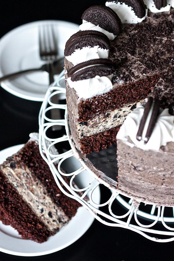 Erica S Sweet Tooth 187 Oreo Cheesecake Layer Cake