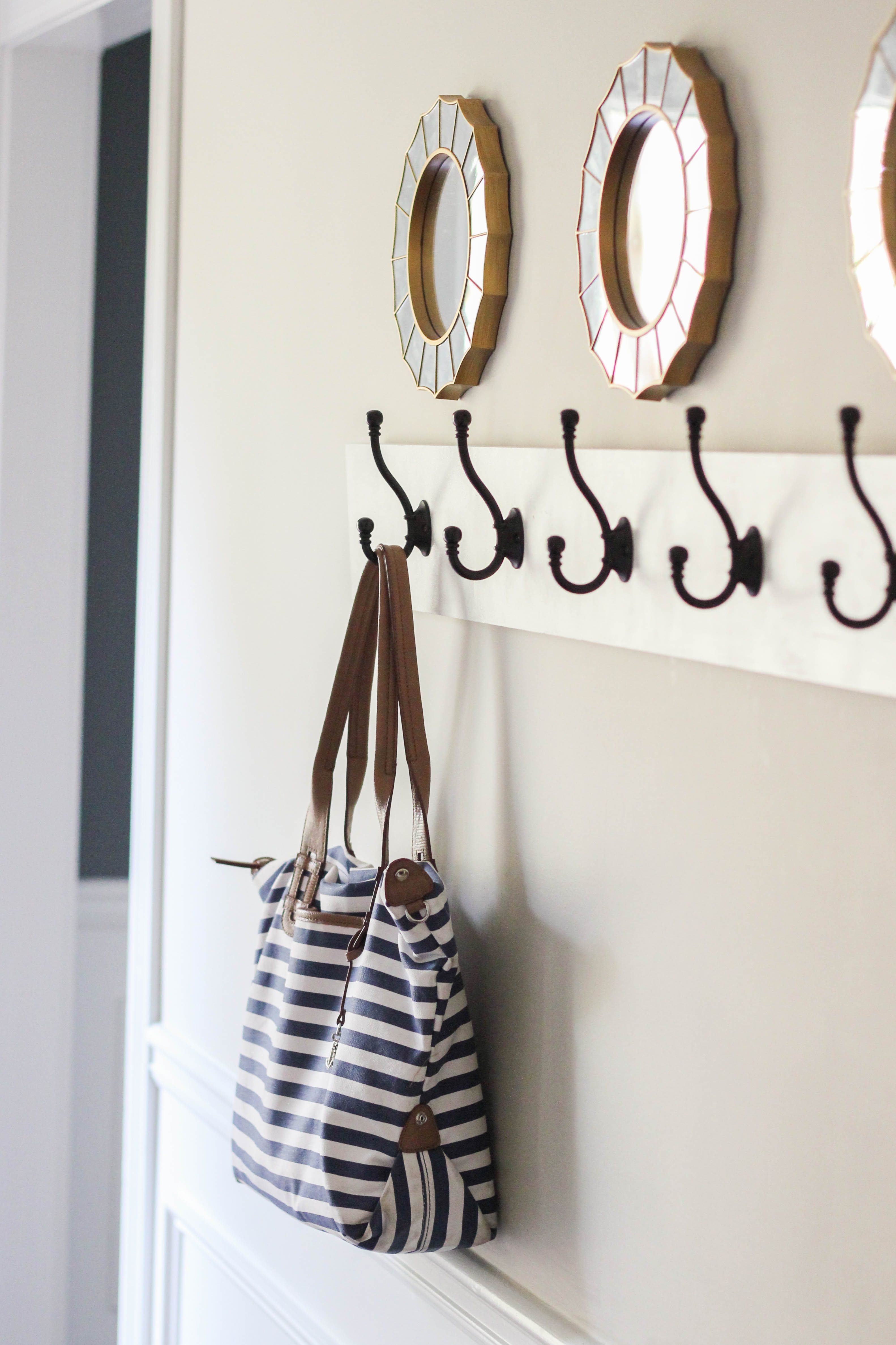 How To Build A Wall Mounted Coat Rack Erin Spain