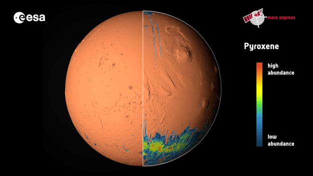 Ten Years At Mars New Global Views Plot The Red Planet S