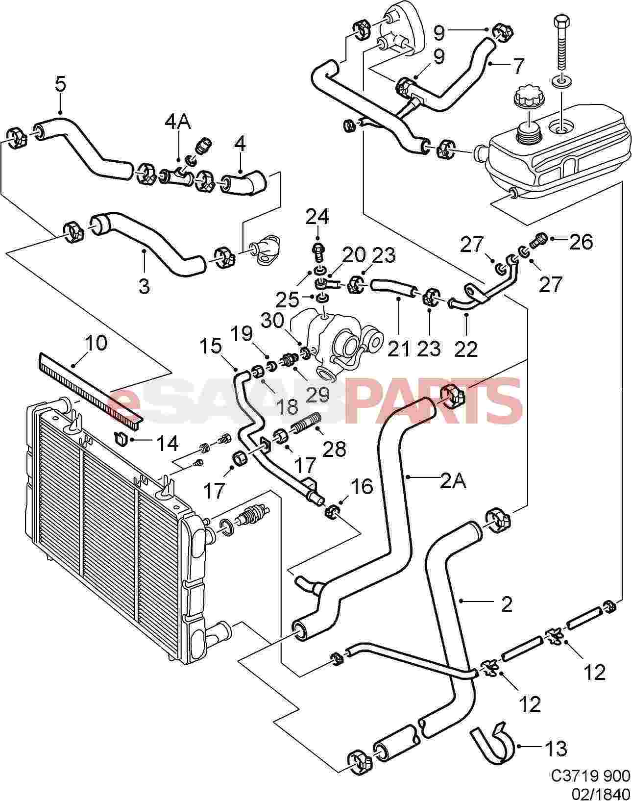Saab parts diagram wiring info u2022 rh dasdes co