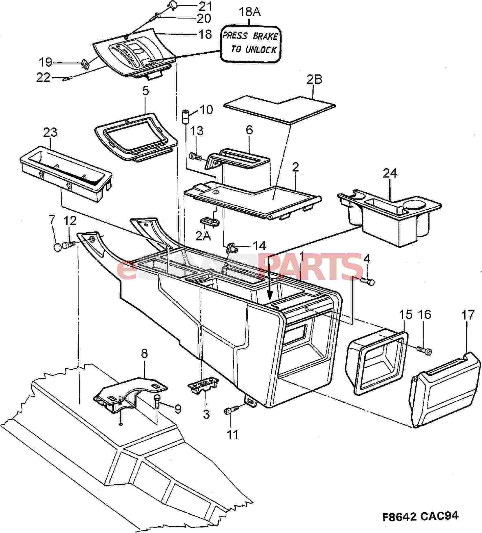 Esaabparts saab 9000 u003e car body internal parts u003e dash rh esaabparts custom center