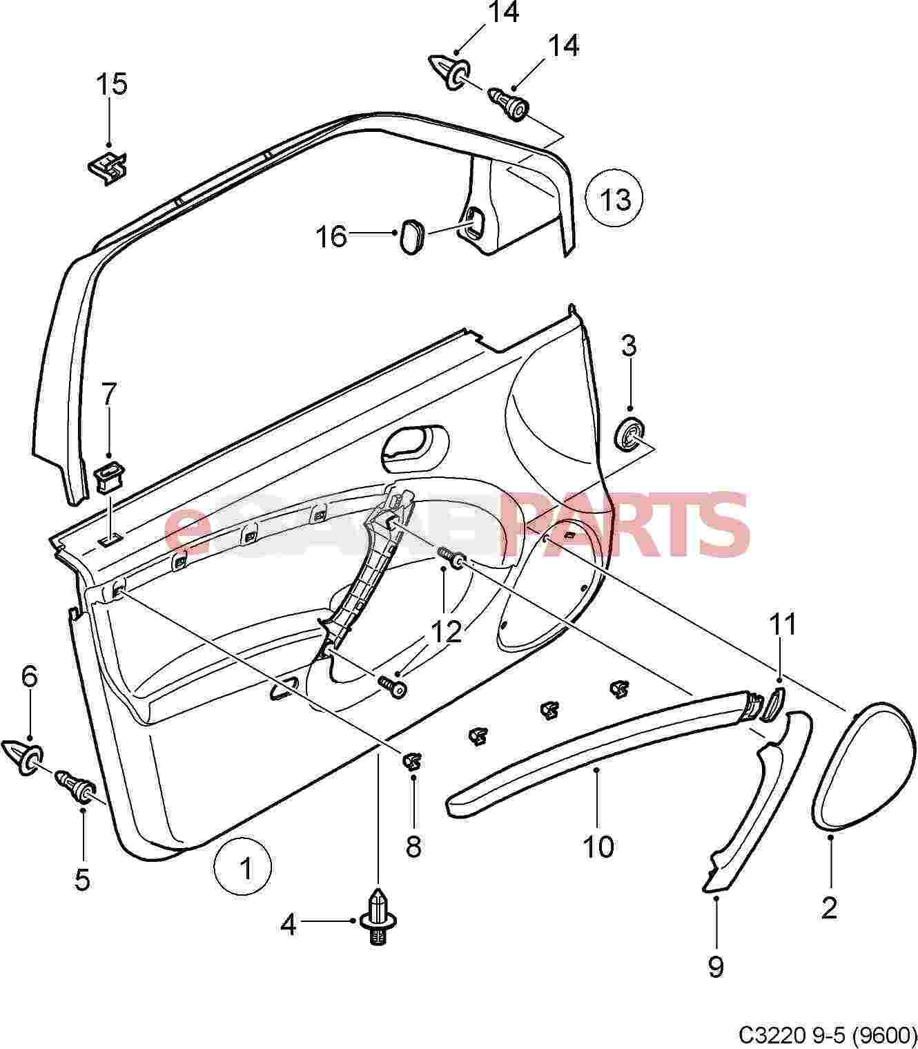 View all parts in diagram sc 1 st esaabparts